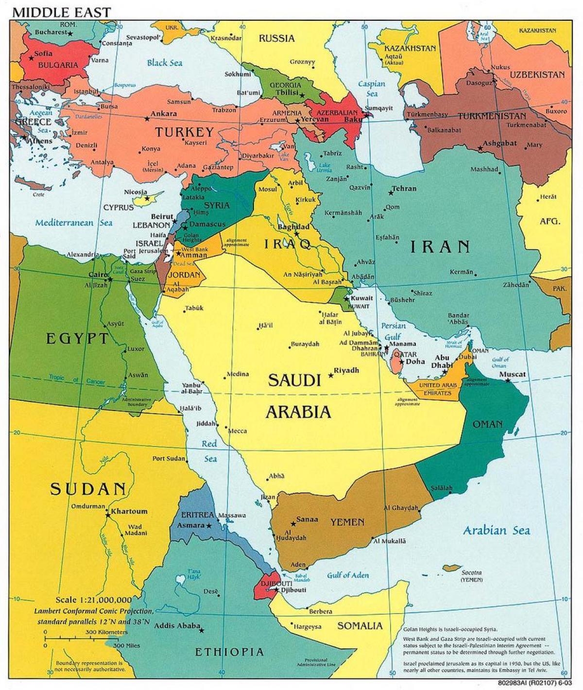 jerusalim mapa Jerusalem middle east map   Middle east map Jerusalem (Israel) jerusalim mapa