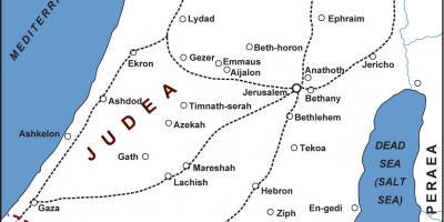 júdea térkép Jerusalem map   Maps Jerusalem (Israel)