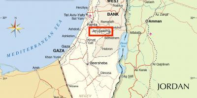 Jerusalem map maps jerusalem israel jerusalem on map of world gumiabroncs Images