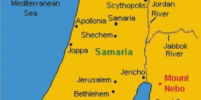 Jerusalem to Jericho map Map of Jericho to Jerusalem Israel